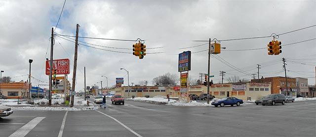 Seven Mile And Van Dyke Detroit 2007