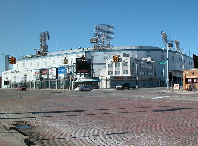 Tiger Stadium Prior To Demolition Winter 2007 Detroit