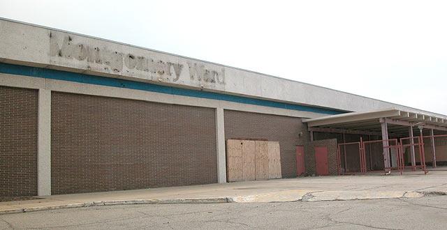Montgomery Ward Store In Warren Michigan Suburban Detroit