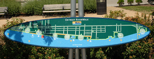 Detroit Riverwalk - Detroit