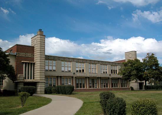 S James Herman School now Rogers Academy Detroit