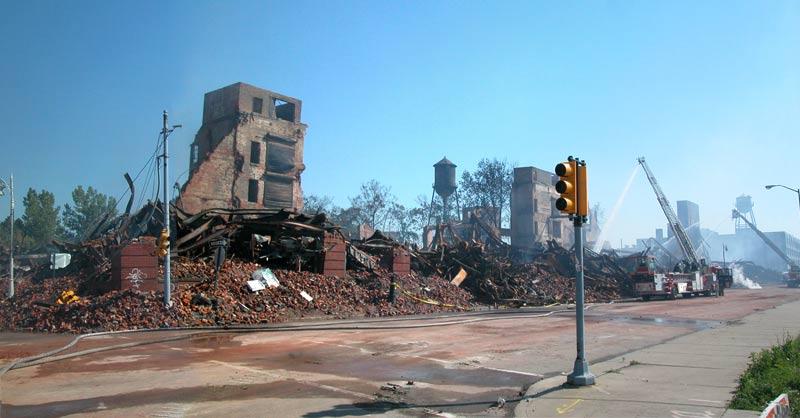 Studebaker Plant Destruction Detroit 2005