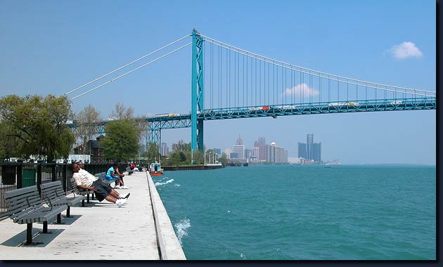 Detroit Rises Detroit Riverfront Restoration