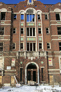Laredo Apartments The Fabulous Apartment Ruins Of Detroit