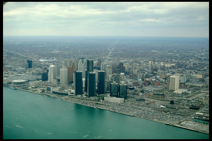 Detroit March 1992 Flyover