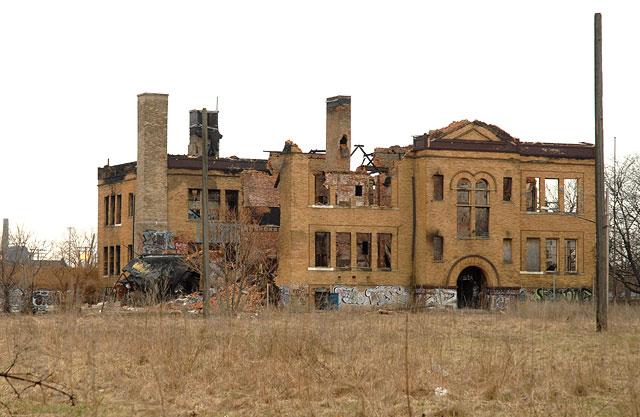 Mcmillan School Delray Detroit Slated For Demolition