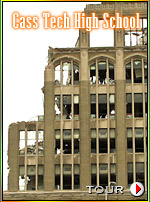Cass Tech High School Detroit Demolition