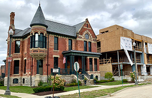 Ransom Gillis House Brush Park Detroit